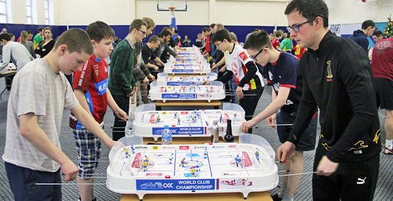 Курск примет международный турнир по настольному хоккею