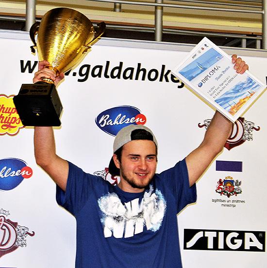 Максим Борисов - победитель Кубка Риги 2017 и лидер МР