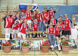 Сборная России 2009 - настольный хоккей
